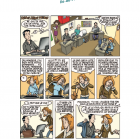 Illustration de la bande dessinée réalisée par la CFDT
