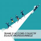 Illustration de la fiche sur la trame d'accord collectif égalité professionnelle